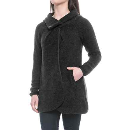Craghoppers Erica Cardigan Sweater (For Women) in Charcoal Marl - Closeouts