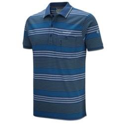 Craghoppers Ernesto Polo Shirt - UPF 40+, Short Sleeve (For Men) in Faded Indigo Combo