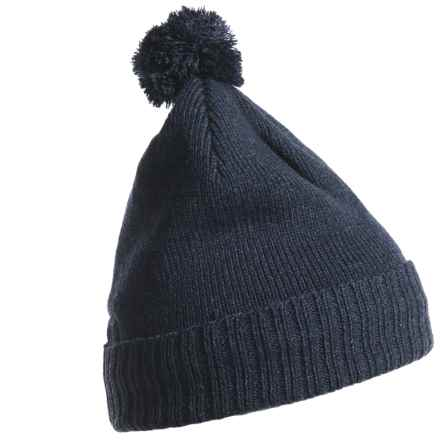 Craghoppers Errwood Bob Beanie (For Men and Women) in Dark Navy Marl - Closeouts