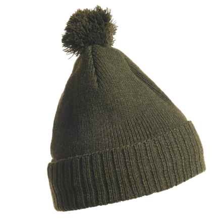 Craghoppers Errwood Bob Beanie (For Men and Women) in Olive Marl - Closeouts