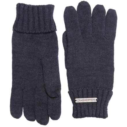 Craghoppers Errwood Gloves (For Men) in Dark Navy Marl - Closeouts