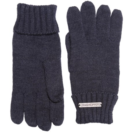 Craghoppers Errwood Gloves (For Men) in Dark Navy Marl