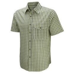 Craghoppers Essential Shirt - Short Sleeve (For Men) in Black Pepper