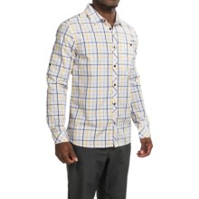 Craghoppers Essien Shirt - UPF 30+, Long Sleeve (For Men) in Royal Navy Combo - Closeouts