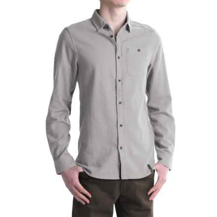 Craghoppers Flint Shirt - Cotton, Long Sleeve (For Men) in Quarry Grey Marl - Closeouts