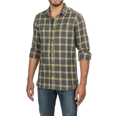 Craghoppers Gillam Check Shirt - Long Sleeve (For Men) in Dark Grey