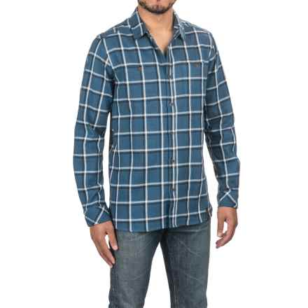 Craghoppers Gillam Check Shirt - Long Sleeve (For Men) in Vintage Indigo - Closeouts