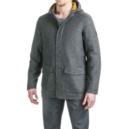 Craghoppers Hamilton Felted Wool Jacket - Insulated (For Men) in Dark Grey Marl - Closeouts