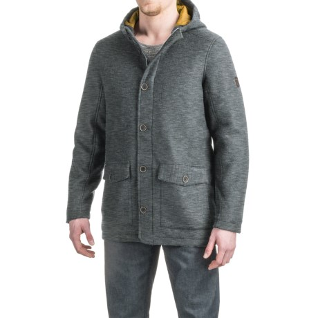 Craghoppers Hamilton Felted Wool Jacket - Insulated (For Men) in Dark Grey Marl
