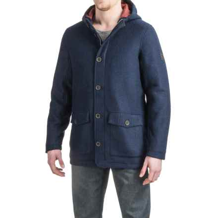 Craghoppers Hamilton Felted Wool Jacket - Insulated (For Men) in Dark Navy Marl - Closeouts