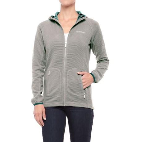 Craghoppers Hazelton Hooded Jacket (For Women) in Platinum
