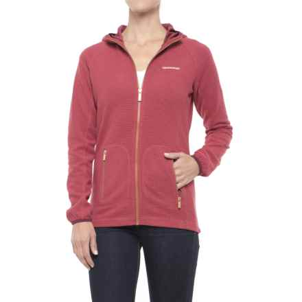 Craghoppers Hazelton Hooded Jacket (For Women) in Rosehip Pink - Closeouts