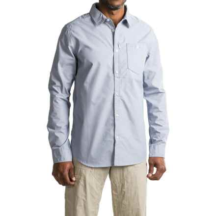 Craghoppers Henri NosiLife® Insect Shield® Shirt - UPF 50+, Long Sleeve (For Men) in Dusk Blue - Closeouts