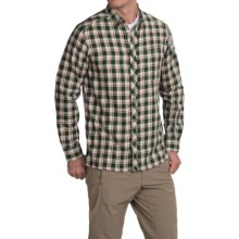 Craghoppers Humbleton Check Shirt - Roll-Up Long Sleeve (For Men) in Dark Cedar Combo - Closeouts