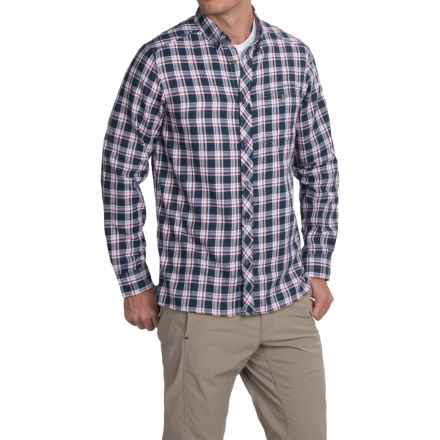Craghoppers Humbleton Check Shirt - Roll-Up Long Sleeve (For Men) in Royal/Navy Combo - Closeouts
