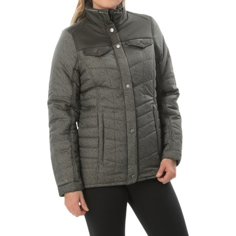Craghoppers Hurlefield Jacket - Insulated (For Women) in Charcoal