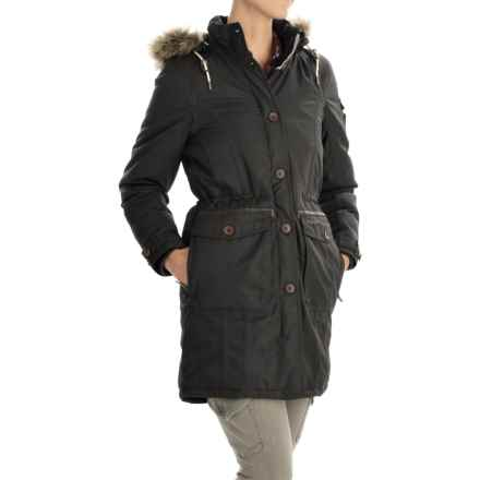 Craghoppers Ilkley AquaDry® Jacket - Waterproof, Insulated (For Women) in Charcoal - Closeouts