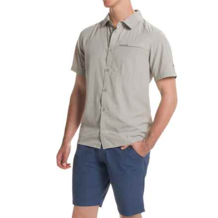 Craghoppers Insect Shield® Belay Shirt - UPF 40+, Short Sleeve (For Men) in Parchment - Closeouts