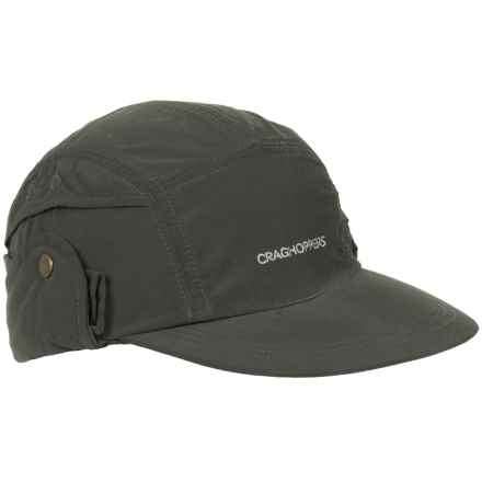 Craghoppers Insect Shield® Desert Cap (For Men) in Dark Khaki - Closeouts