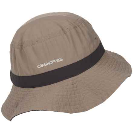 Craghoppers Insect Shield® Jungle Hat (For Men) in Dark Khaki/Pebble - Closeouts