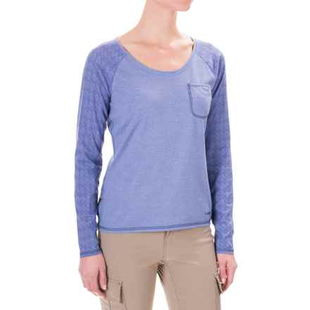 Craghoppers Insect Shield® Shirt - UPF 40+, Long Sleeve (For Women) in Ashen Mist - Closeouts