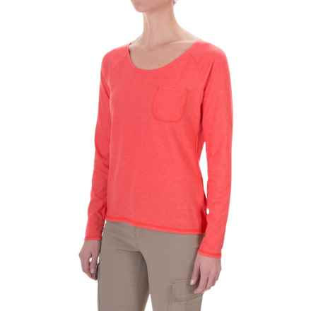 Craghoppers Insect Shield® Shirt - UPF 40+, Long Sleeve (For Women) in Sunset - Closeouts