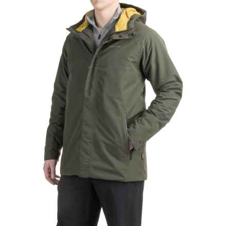 Craghoppers Irvine Gore-Tex® Hooded Jacket - Waterproof, Insulated (For Men) in Dark Khaki - Closeouts