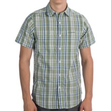 Craghoppers Ismael Shirt - UPF 40+, Short Sleeve (For Men) in Green Combo - Closeouts