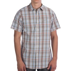 Craghoppers Ismael Shirt - UPF 40+, Short Sleeve (For Men) in Pebble Combo