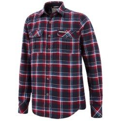 Craghoppers Jakobe II Plaid Flannel Shirt - Long Sleeve (For Men) in Red