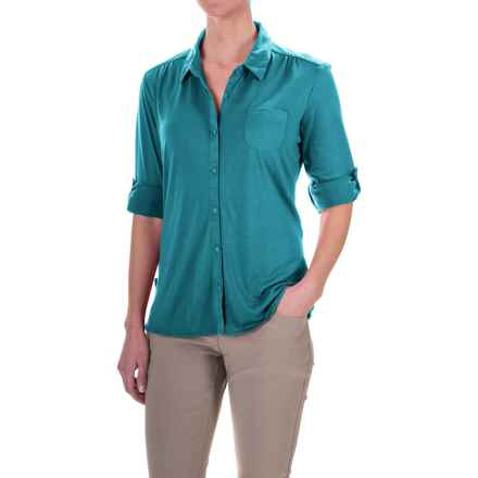 Craghoppers Kaile Shirt - UPF 30+, Long Sleeve (For Women) in Lagoon - Closeouts