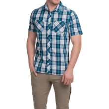 Craghoppers Kalifa Shirt - UPF 30+, Short Sleeve (For Men) in Alpine Green - Closeouts