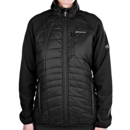 Craghoppers Kamala Fleece Jacket - Insulated, Full Zip (For Women) in Black - Closeouts