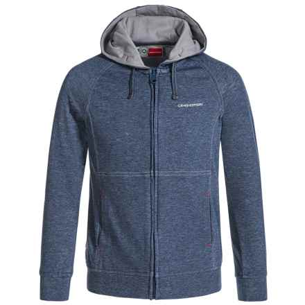 Craghoppers Kemiah NosiLife® Hoodie - UPF 40+, Full Zip (For Little and Big Kids) in Faded Indigo Marl - Closeouts