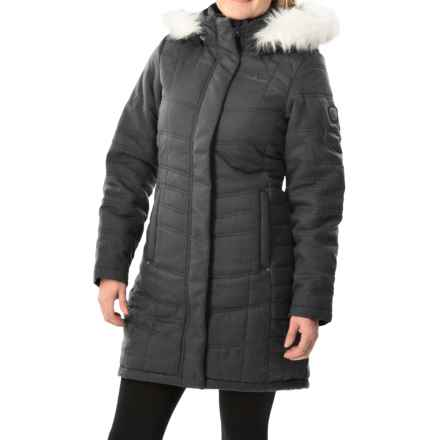 Craghoppers Kilnsey Jacket - Waterproof, Insulated (For Women) in Charcoal - Closeouts