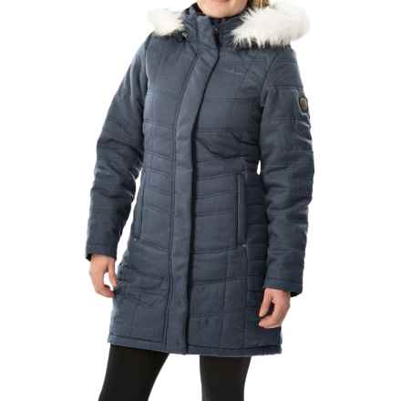 Craghoppers Kilnsey Jacket - Waterproof, Insulated (For Women) in Thunder Grey - Closeouts