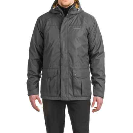 Craghoppers Kiwi 3-in-1 Compress Lite Jacket - Waterproof, Insulated (For Men) in Black Pepper/Dirty Olive - Closeouts