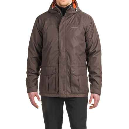 Craghoppers Kiwi 3-in-1 Compress Lite Jacket - Waterproof, Insulated (For Men) in Unber Brown/Orange - Closeouts