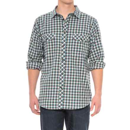 Craghoppers Kiwi Checkered Shirt - Long Sleeve (For Men) in Dark Grey Combo - Closeouts