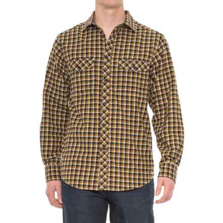 Craghoppers Kiwi Checkered Shirt - Long Sleeve (For Men) in Dark Navy Combo - Closeouts