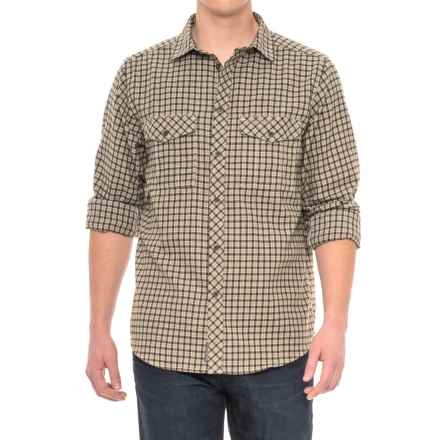 Craghoppers Kiwi Checkered Shirt - Long Sleeve (For Men) in Espresso Brown Combo - Closeouts