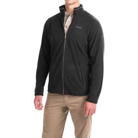Craghoppers Kiwi Interactive Microfleece Jacket - Full Zip (For Men) in Black - Closeouts