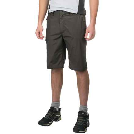 Craghoppers Kiwi Long Shorts - UPF 40+ (For Men) in Bark - Closeouts