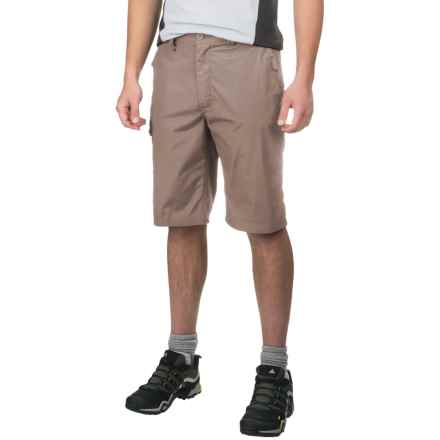Craghoppers Kiwi Long Shorts - UPF 40+ (For Men) in Beach - Closeouts