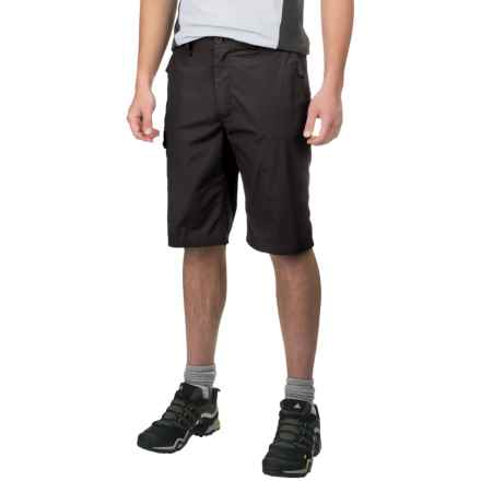 Craghoppers Kiwi Long Shorts - UPF 40+ (For Men) in Black Pepper - Closeouts