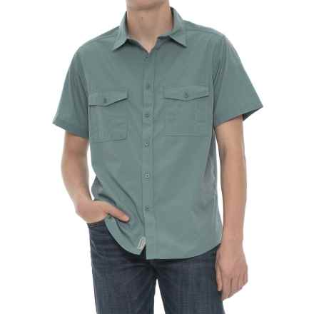Craghoppers Kiwi NosiDefence Shirt - UPF 50+, Short Sleeve (For Men) in Lake Blue - Closeouts