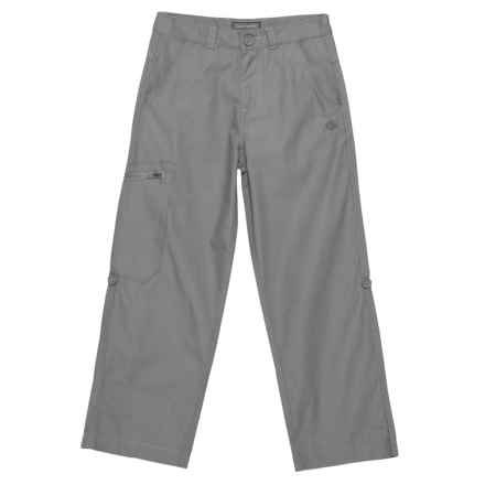 Craghoppers Kiwi NosiDefence Trousers - UPF 50+ (For Big Kids and Little Kids) in 0N2000 Platinum - Closeouts