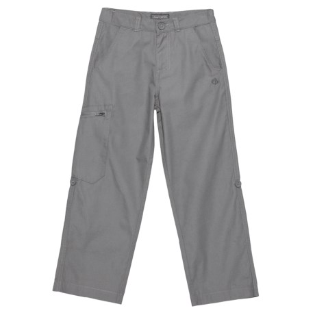 Craghoppers Kiwi NosiDefence Trousers - UPF 50+ (For Big Kids and Little Kids) in 0N2000 Platinum