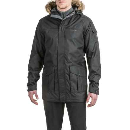 Craghoppers Kiwi Parka - Waterproof, Insulated (For Men) in Black - Closeouts
