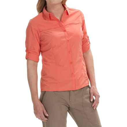 Craghoppers Kiwi Pro Lite Shirt - UPF 40+, Long Sleeve (For Women) in Sunset - Closeouts